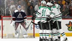 NHL: Stars 3, Avalanche 0
