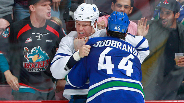 Canucks get last laugh against Maple Leafs