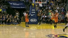 Must See: McGee almost inbounds from the wrong end