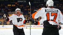 NHL: Flyers 4, Predators 2