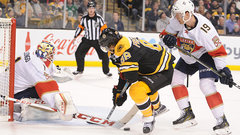 NHL: Panthers 3, Bruins 4 (OT)