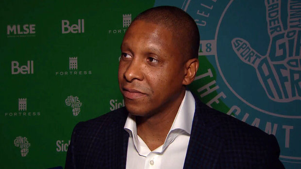 Ujiri excited for third annual Giants of Africa event