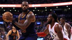 NBA: Cavaliers 116, Raptors 112