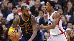 Court Squeaks: Raps host Cavs with lots on the line