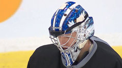Leafs' Andersen gets high-tech help at practice