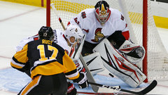 Pens push pace to outlast Sens