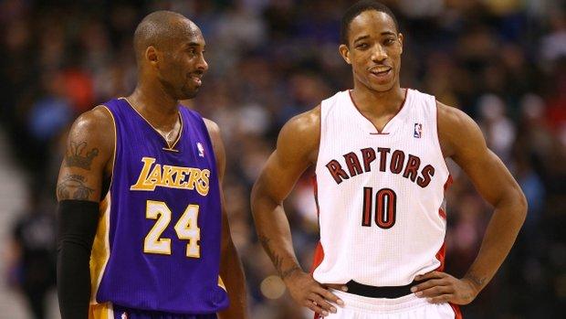 How Kobe Bryant shaped DeMar DeRozan