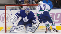 Maple Leafs place Enroth on waivers
