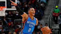 NBA: Thunder 102, Hawks 99