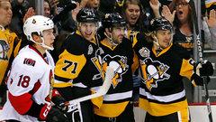 NHL: Senators 5, Penguins 8