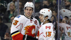 Gaudreau, Monahan getting it done for the Flames