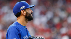 Bautista's agent seen meeting with Blue Jays' brass