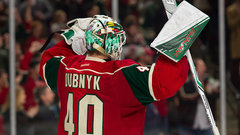Dubnyk needed to crash and burn