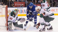 NHL: Wild 3, Maple Leafs 2