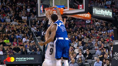 Must See: DeRozan flies over Rubio for insane follow-up dunk