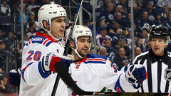 NHL: Rangers 2, Jets 1