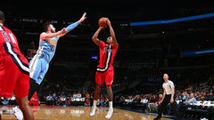 NBA: Nuggets 85, Wizards 92