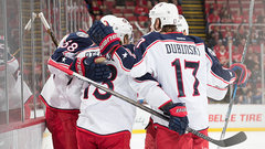 NHL: Blue Jackets 4, Red Wings 1