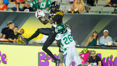 CFL: Roughriders 7, Tiger-Cats 53