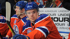 McDavid happy to have Larsson, shrugs off captaincy talk