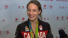 Oleksiak looks back on 2016 Rio Olympics