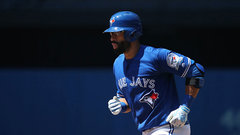 Bautista hitting lead-off in return to Jays' lineup