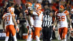 Lions escape back-and-forth affair, spoil Harris' return