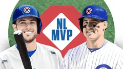 Bryant, Rizzo making their cases for MVP
