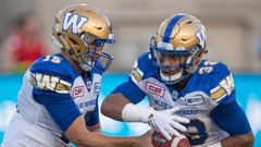 CFL: Blue Bombers 32, Alouettes 18