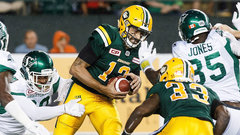 Reilly, Bell use their legs to will Eskimos to the win
