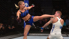 Must See: VanZant catches Rawlings with impressive head kick