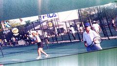 Raonic, Gordon reminisce on childhood tennis days