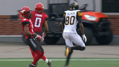 CFL In-Game: Toliver's second TD makes it close