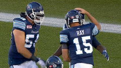 CFL Must See: Ray bombs one to Elliott on opening drive