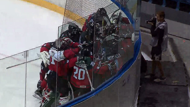 Canada opens Ivan Hlinka with OT win