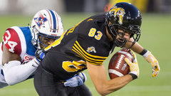 Tiger-Cats barely edge out the struggling Als