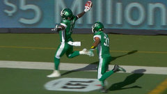 CFL Must See: Gainey steals ball, returns it for TD