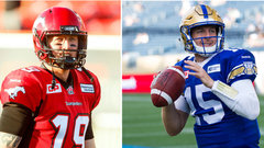 Stamps, Bombers preparing for biggest matchup in CFL history