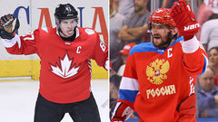 Crosby vs. Ovechkin headlines Canada vs. Russia