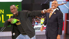 Herm Edwards recruits Bolt for the NFL