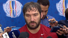 Ovechkin: It's an exciting moment for players and fans