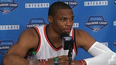 Westbrook knows it will be 'different' without Durant