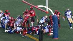 CFL In-Game: Nichols' TD cuts into Stamps' lead