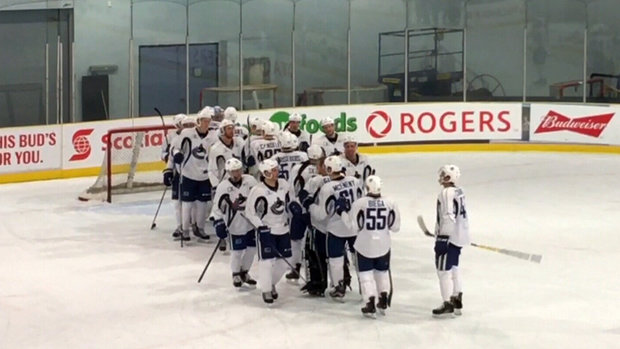 Highlights from Canucks Intrasquad Scrimmage on Day 3