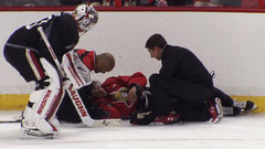 MacArthur suffers concussion at practice