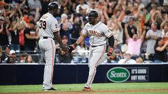 MLB: Giants 9, Padres 6 (10)
