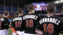 Fernandez honoured with emotional tribute before Mets/Marlins game