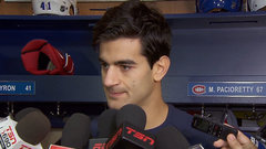 Pacioretty reflects on WCH experience