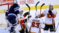 NHL: Flames 3, Jets 0
