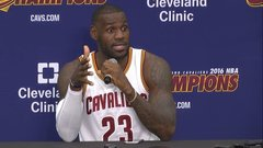 LeBron admits fearing for his son's life